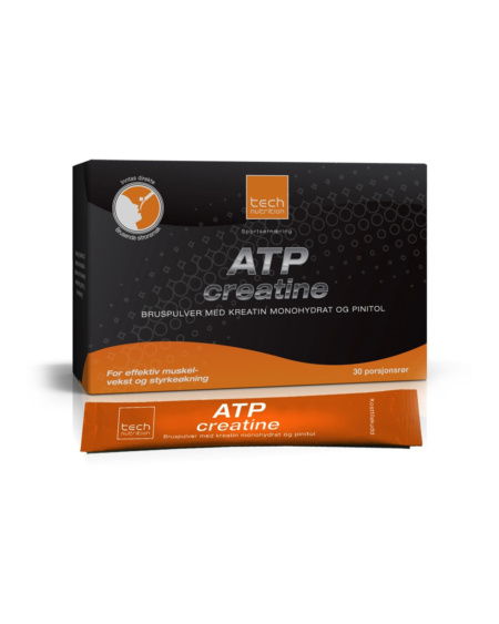 Tech Nutrition ATP creatine bruspulver - 30 porsj. Sitron
