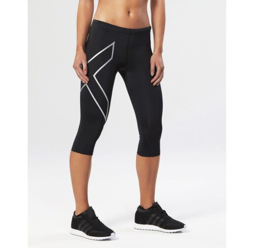 WEB_Image 2XU 3 4 Compression Tights Dame Sort Søl wa1943b_blk-blk-1818282290
