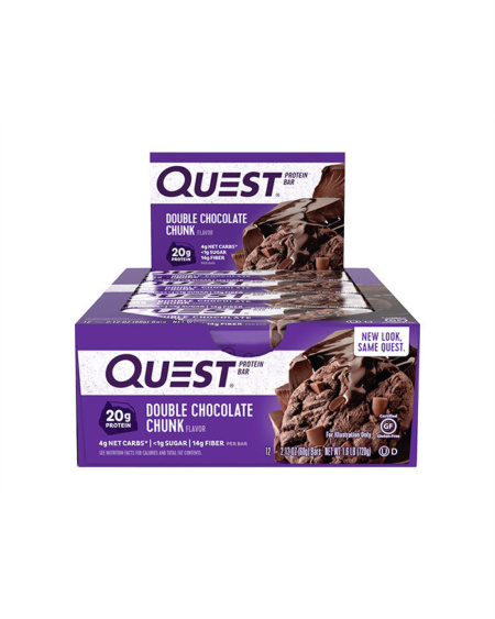 Bars Double Chocolate Chunk 12x60g