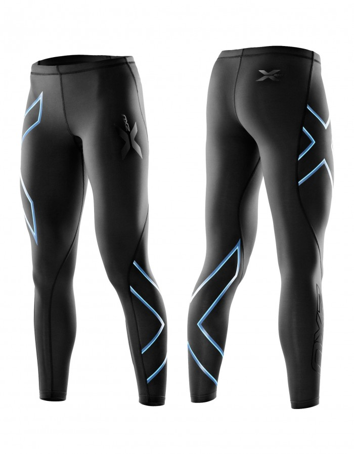 857081fe Find 2xu elite compression tights women black steel logo. Shop every ...
