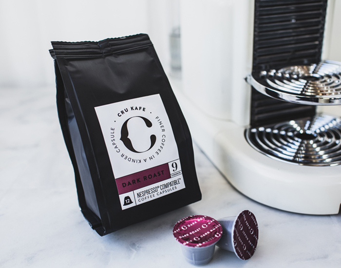 cru dark roast kaffe