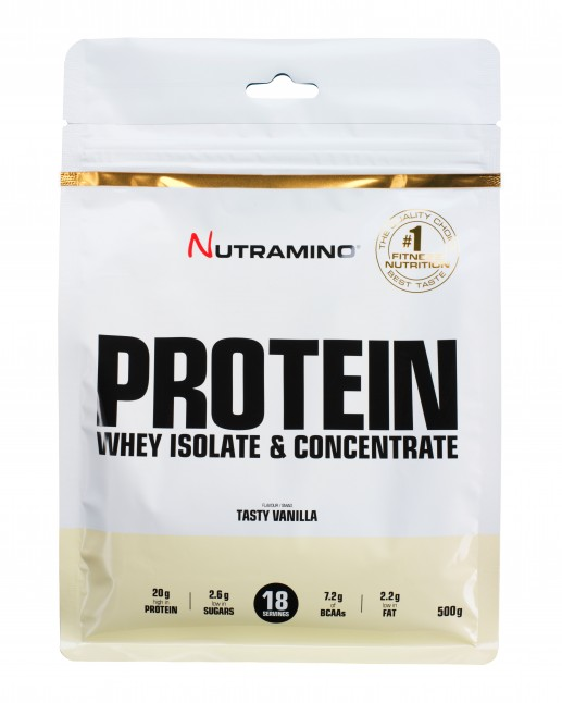 Nutramino Vanilla_Protein pulver_500g