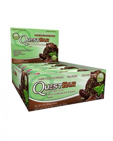 Questbar chocolate mint