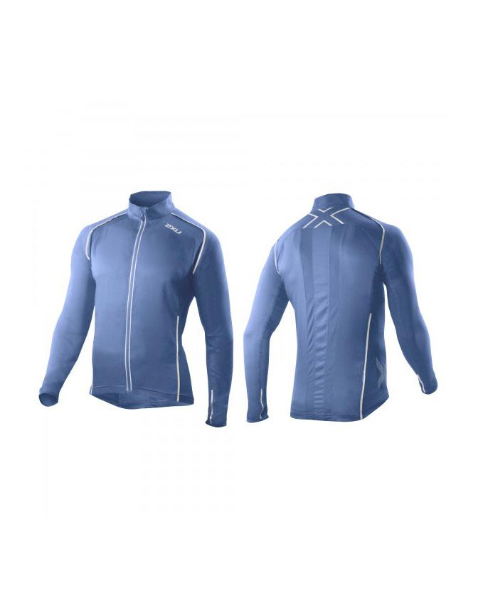 2XU 360 Run Jacket Mens Pacific Blue/Pacific Blue S