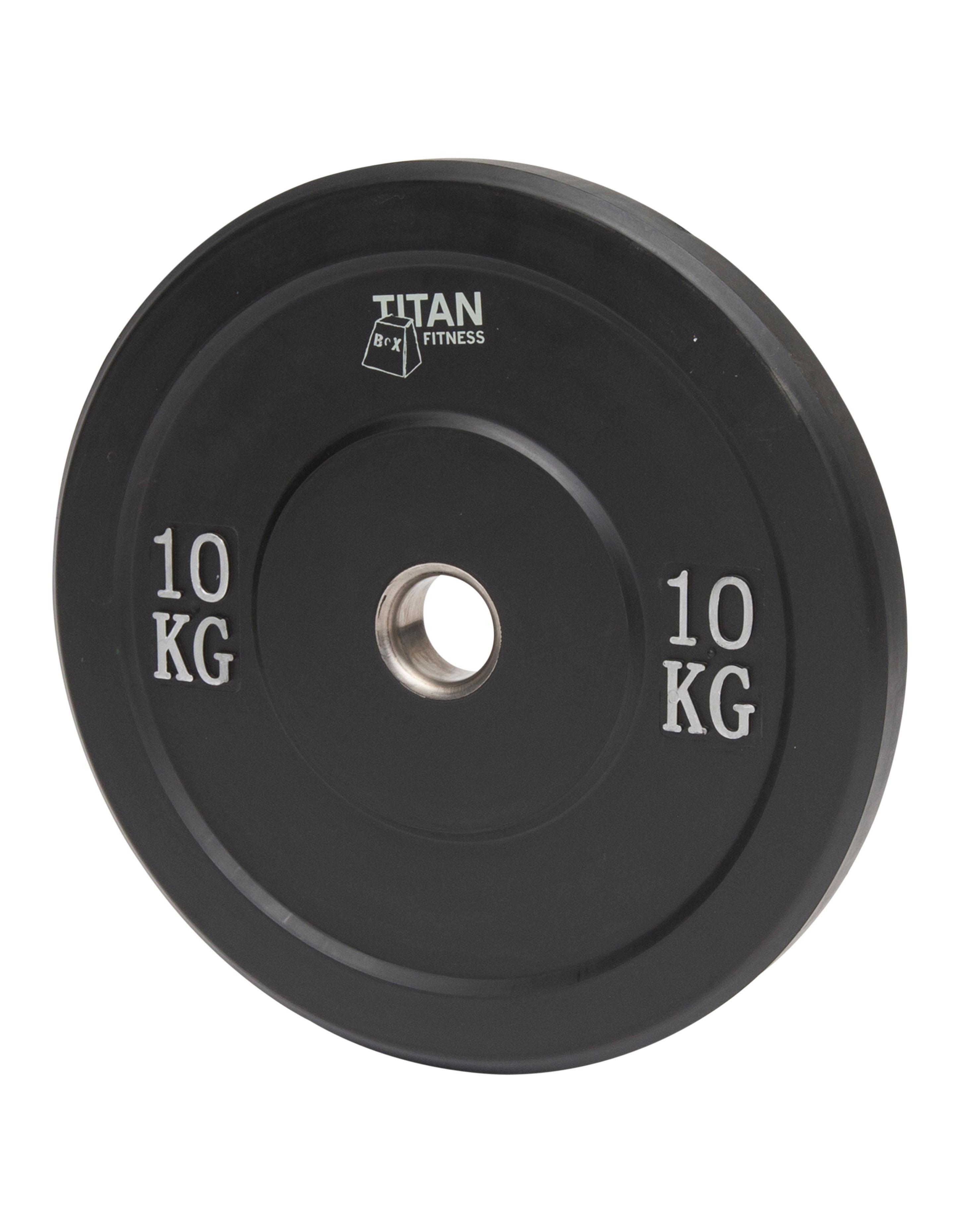 Titan BOX Bumper plates 10 kg Black