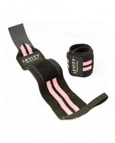 LEVITY Elastic Wrist Wrap Pro Black_pink