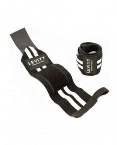 LEVITY Elastic Wrist Wrap Pro Black_white