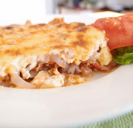 Miracle noodle lasagne