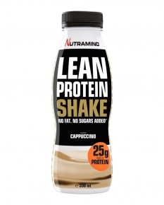 Nutramino Lean Protein Shake Cappuccino Tights_no