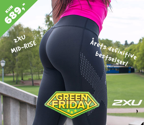 2XU MID RISE 689,- green friday