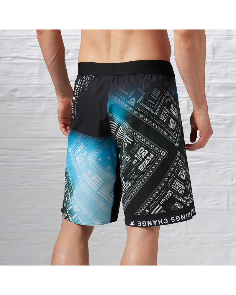 Reebok Mens One Series Brandana Sublimated Short Instinct
