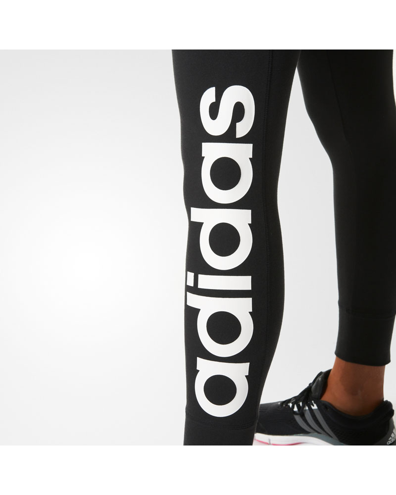 adidas Womens Essentials Linear Tights blackwhite Tights.no