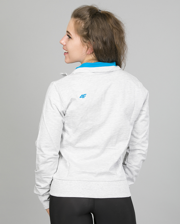 4F jakke dame, lysgrå t4l16-bld001 e