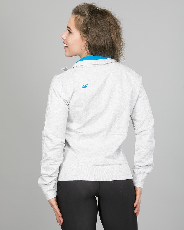 4F jakke dame, lysgrå t4l16-bld001 f