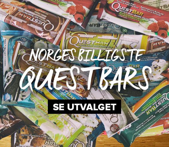 Norges billigste Quest Bars