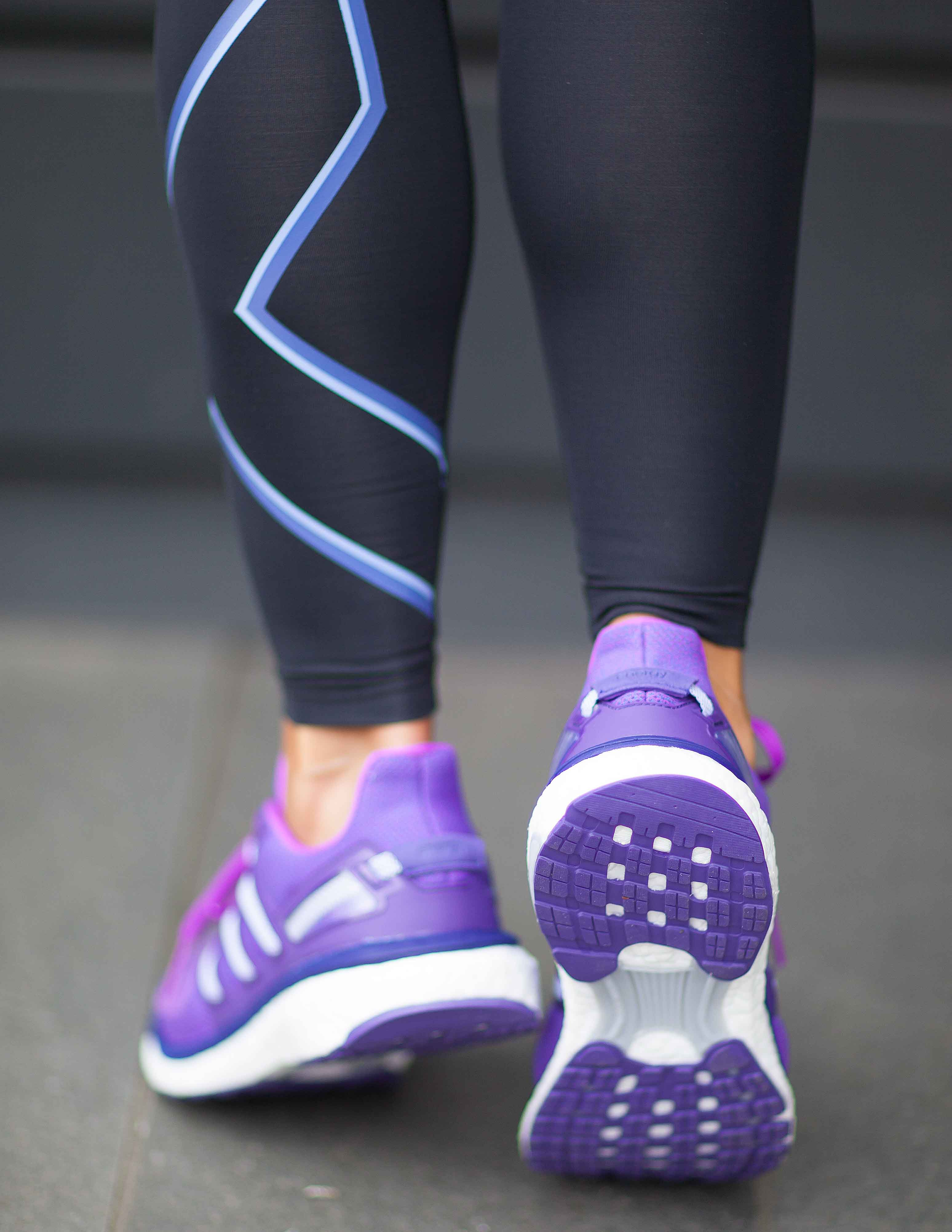 adidas Womens Energy Boost 3 W Shock Purple Tights.no