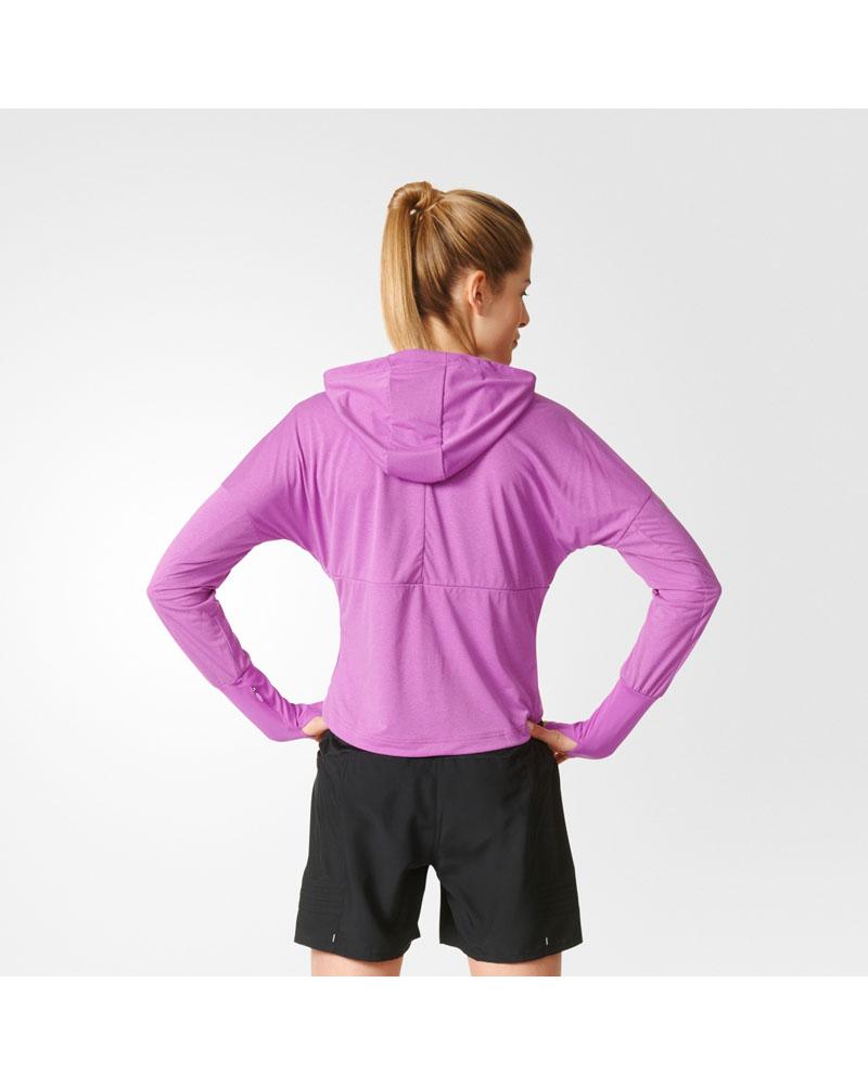 adidas Womens Stretch Jacket Shock Purple Tights.no