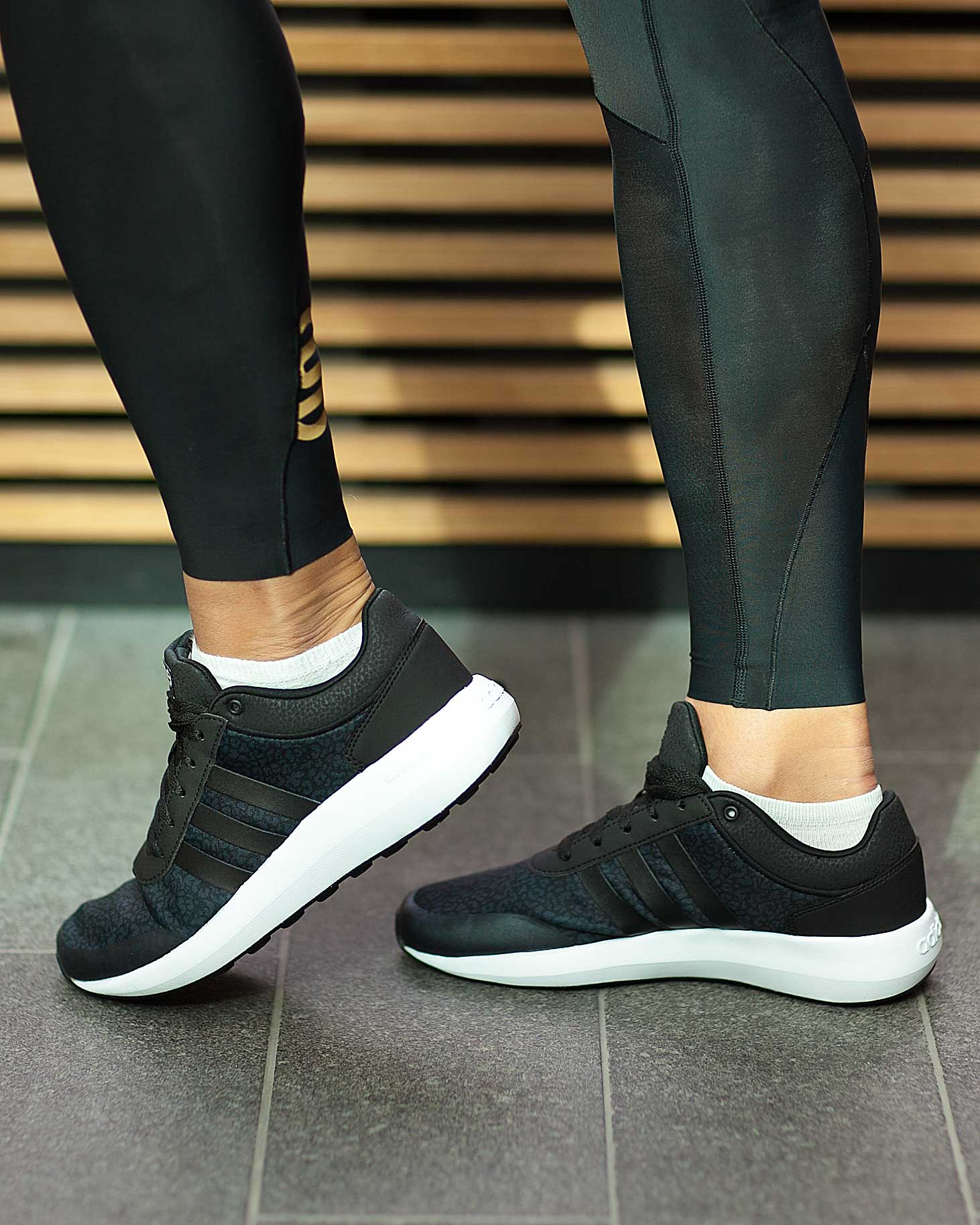 adidas Womens Neo Cloudfoam Race Shoes Tights.no
