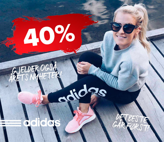 Adidas 40%
