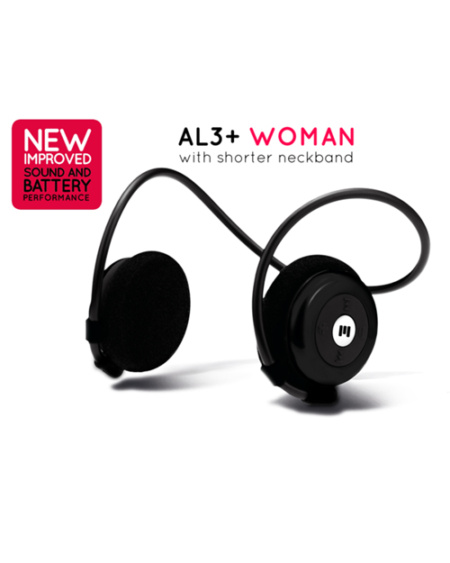 On ear trådløse hodetelefoner til dame