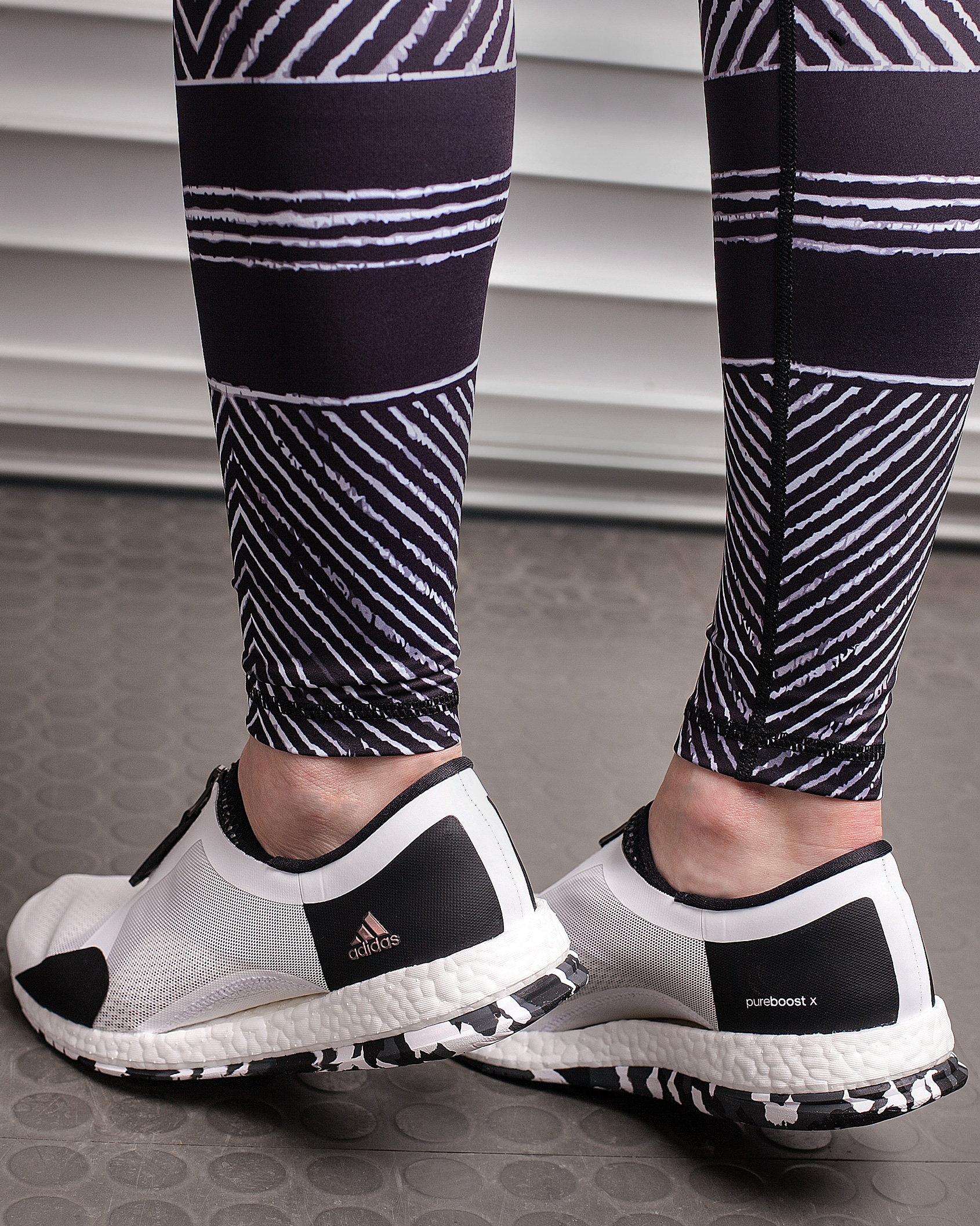 adidas Womens PureBOOST X TR Zip Tights.no