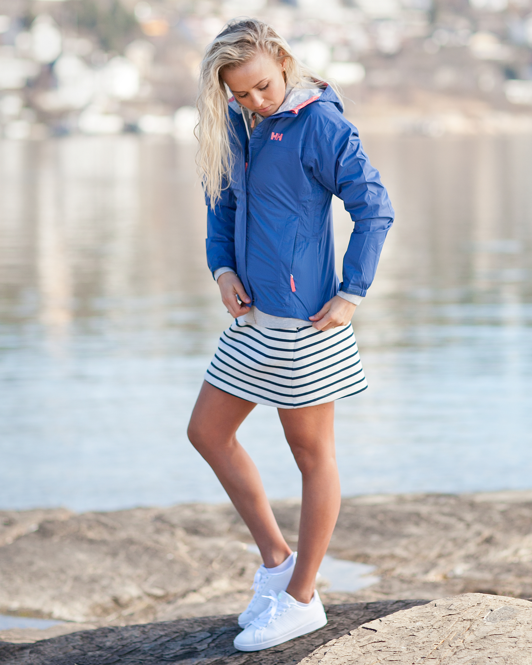 Helly Hansen Loke Jacket, Marine Blue Tights.no