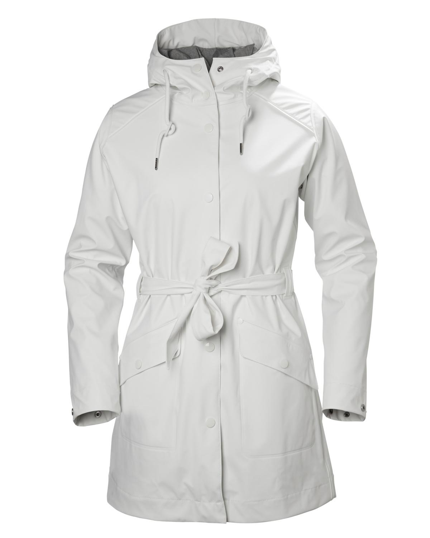 34d976c8 Helly Hansen Kirkwall Rain Coat, White - Tights.no