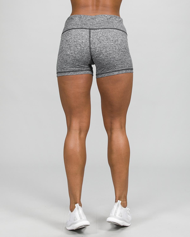 Skiny Yoga & Relax Hot Pants 082706, Black Grey Melange c