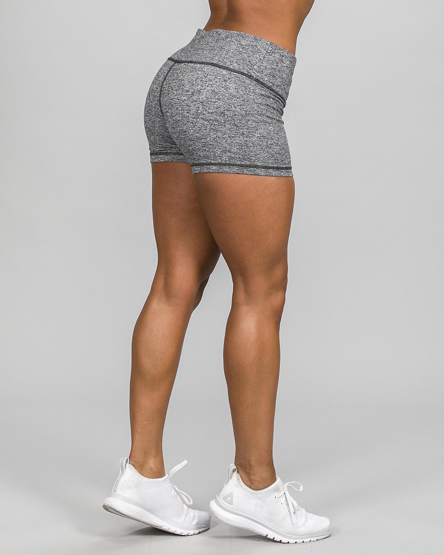 Skiny Yoga & Relax Hot Pants 082706, Black Grey Melange d
