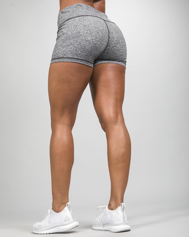 Skiny Yoga & Relax Hot Pants 082706, Black Grey Melange d e