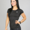 4F Active T-Shirt, Black tsdf003 b