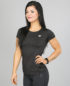 4F Active T-Shirt, Black tsdf003 b