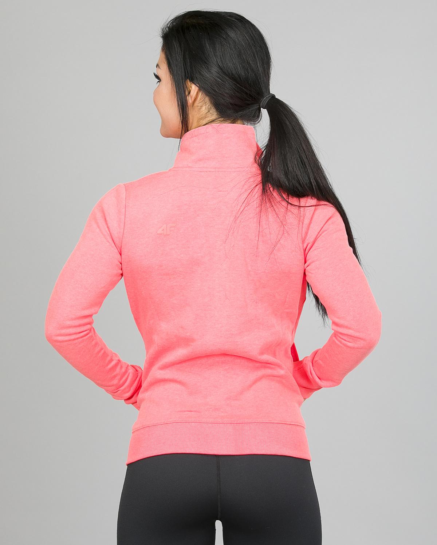 4F Sweatshirt, Neon Coral h4l17-bld002-1969 c
