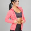 4F Sweatshirt, Neon Coral h4l17-bld002-1969 f