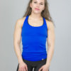 4F Tank Top, Blue Cornflower tsd007