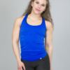 4F Tank Top, Blue Cornflower tsd007 b