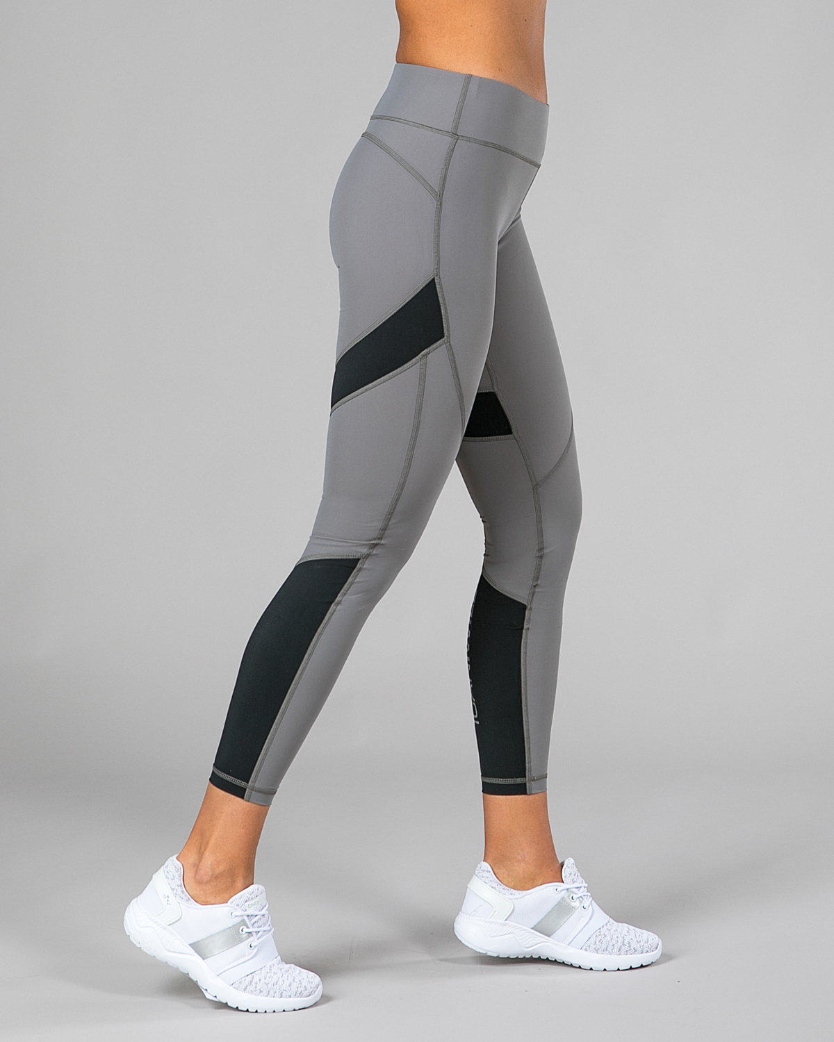 icaniwill performance tights grå b