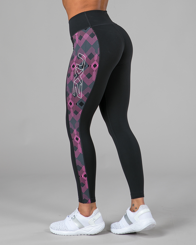 2XU-Fitness-Compression-Tights-Womens-Pink