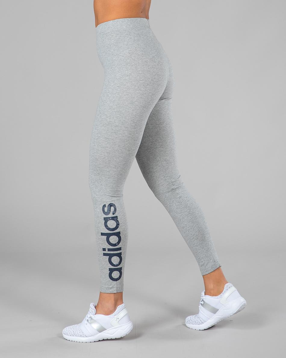 Adidas Essentials Linear Tights Medium Grey Heather