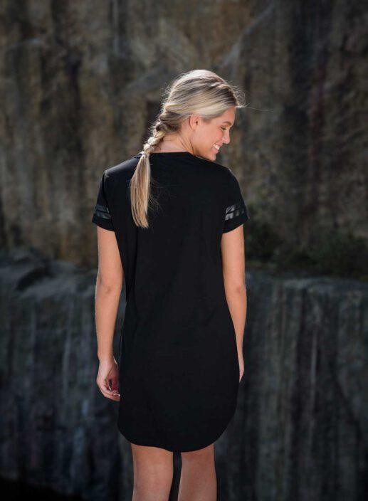 Aim'n Black Short Sleeve Dress 17070008 c
