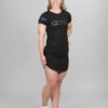 Aim'n Black Short Sleeve Dress 17070008 f