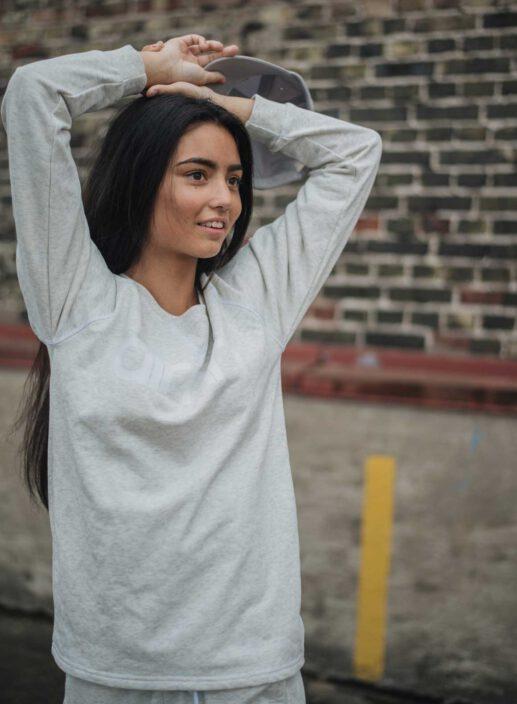 Aim'n Grey Sweatshirt 17050014