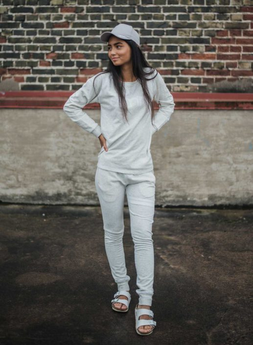 Aim'n Grey Sweatshirt 17050014 and -pants 17010007