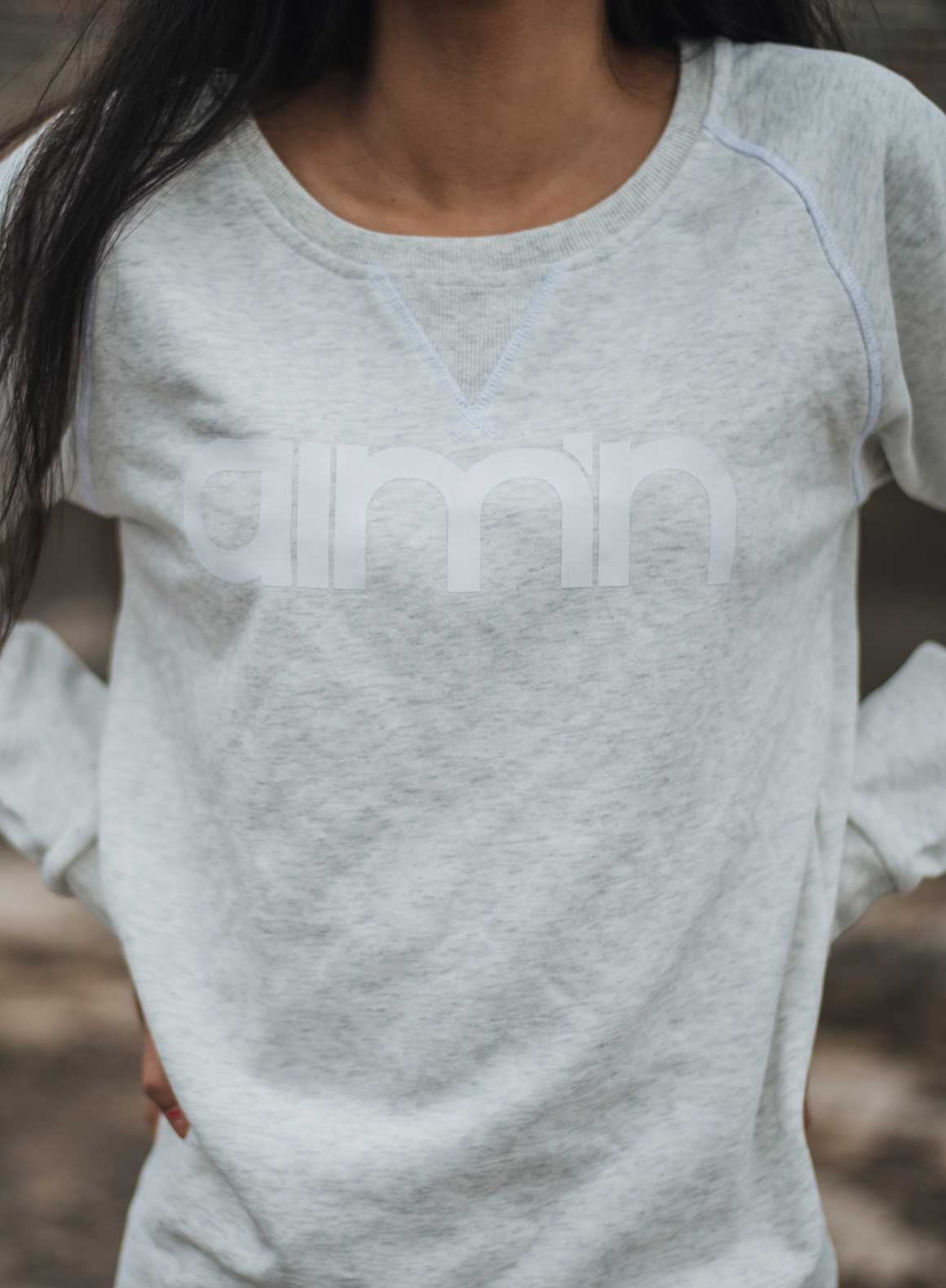 Aim'n Grey Sweatshirt 17050014 b