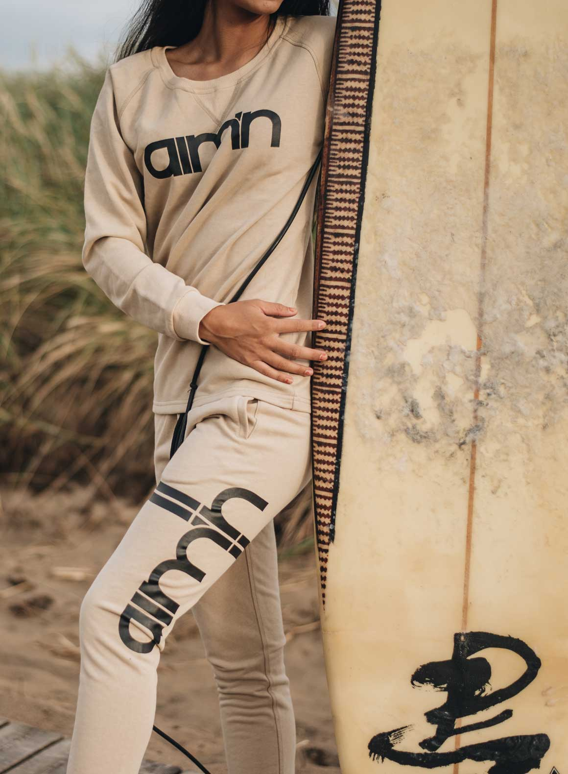 Aim'n Nude Sweatshirt 17050013 and -pants 17010006 b