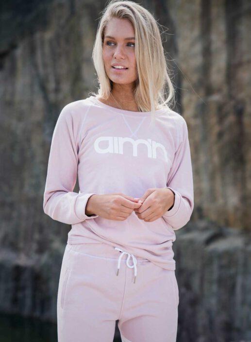 Aim'n Pink Sweatshirt 17050012 and -pant 17010005