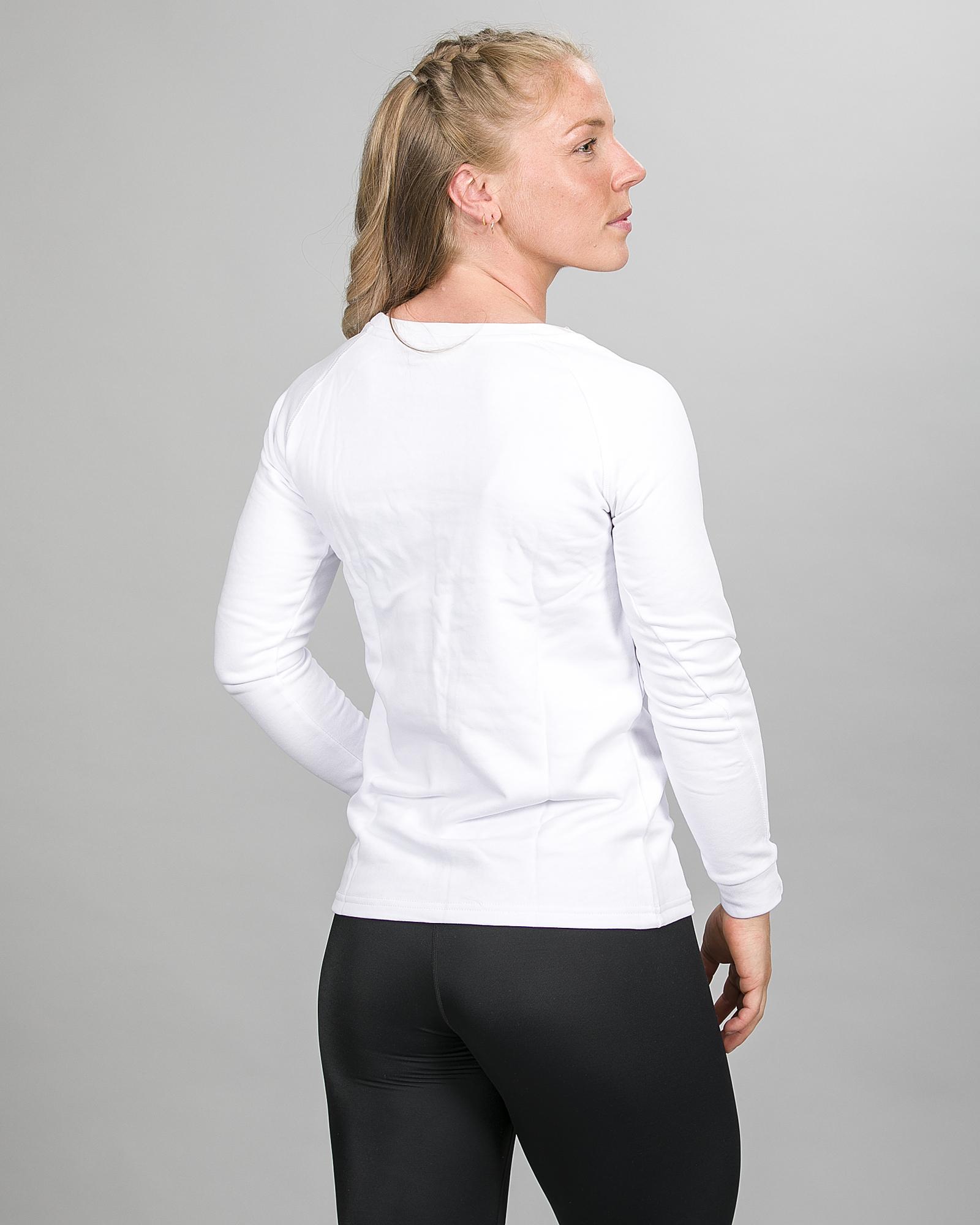Aim'n White Sweatshirt 17050016 d
