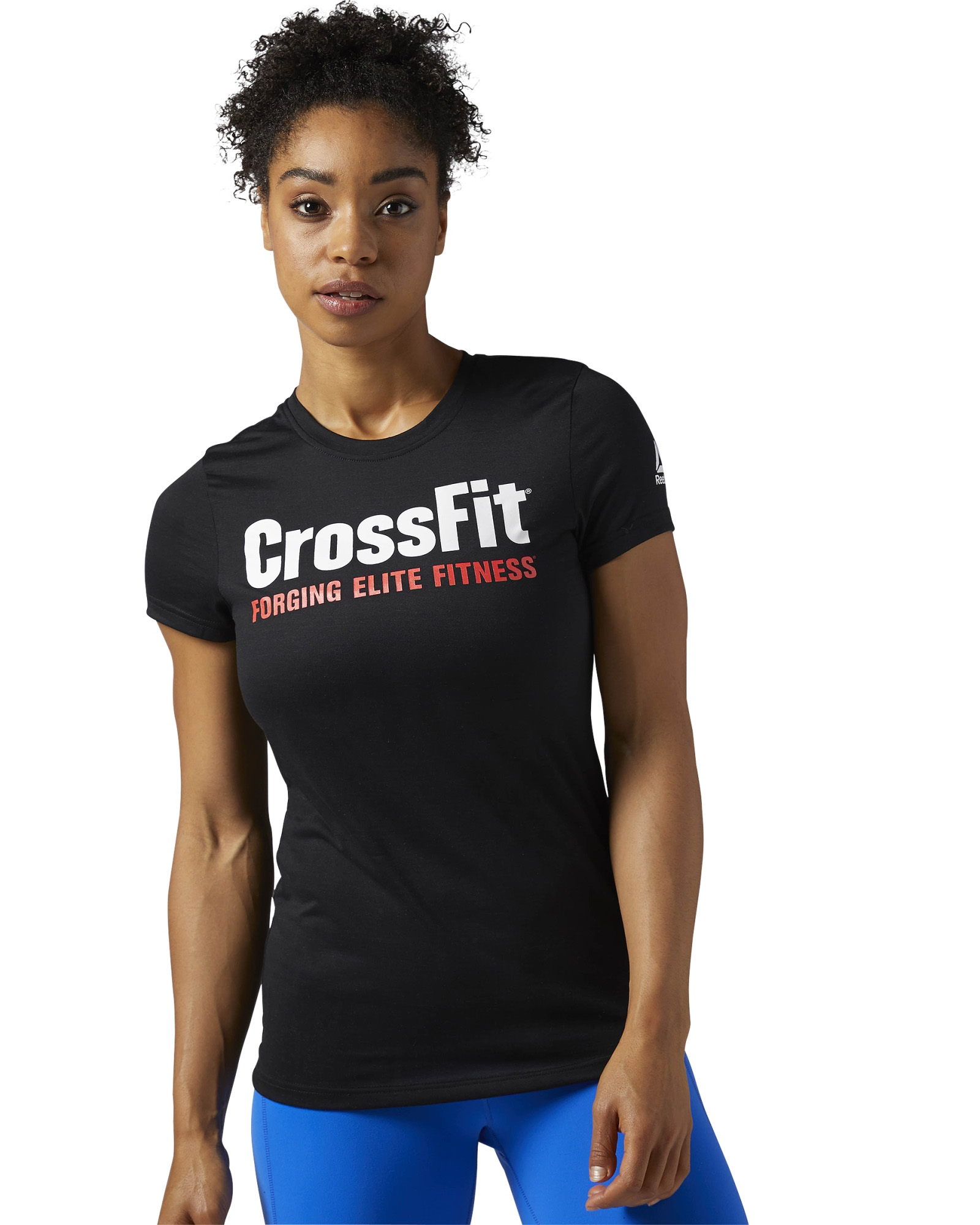 reebok crossfit speedwick tee black. Black Bedroom Furniture Sets. Home Design Ideas