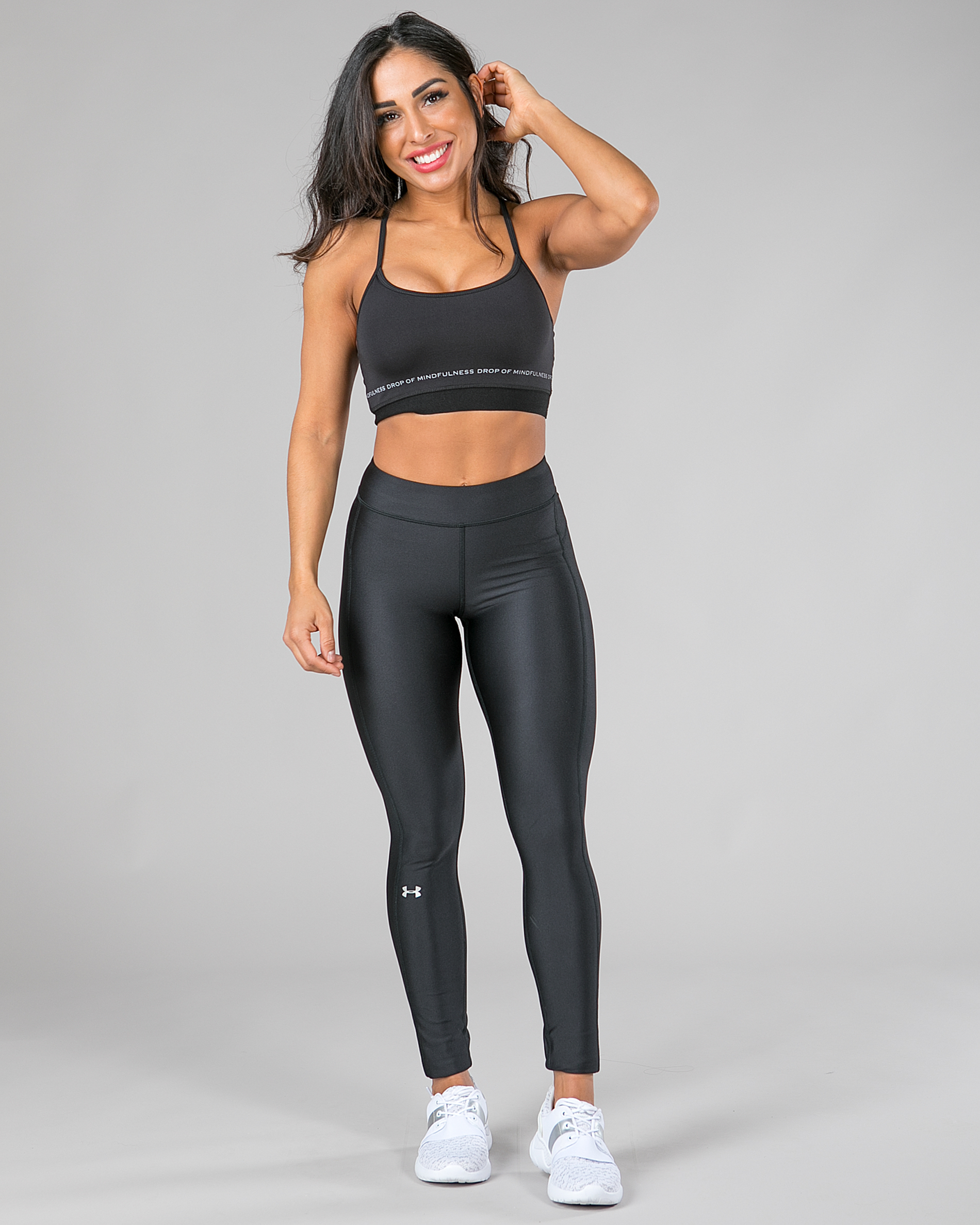 253ae8d3 Under Armour HeatGear Armour Legging, Black - Tights.no