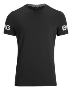 Bjorn Borg Tee Palmer Performance - Black Beauty